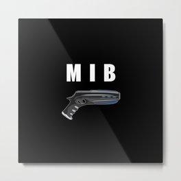 MIB Pistol Metal Print