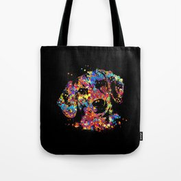 Colorful Dachshund dog  - Doxie Tote Bag