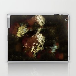 Abstract flower intricate bright nature decoration christmas summer pattern beautiful background Laptop & iPad Skin