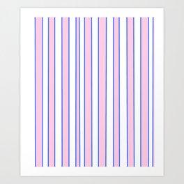 Strips 2-line,band,striped,zebra,tira,linea,rayas,rasguno,rayado. Art Print