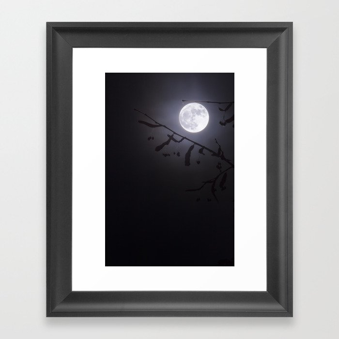 Werewolf Moon Framed Art Print