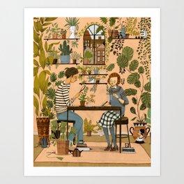 The Botanists Art Print