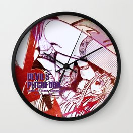 Marble Texture/Flash Wall Clock