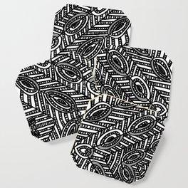 Tile Design Achromatic Coaster