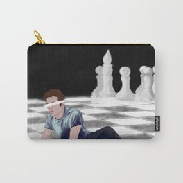 chessboard Carry-All Pouch