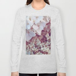 Pink and White Flowers (Color) Long Sleeve T-shirt