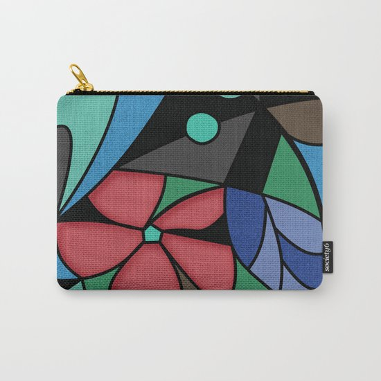 Abstract pattern Mosaic . Carry-All Pouch