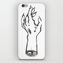 Witch hand iPhone Skin