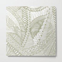 African lines Metal Print