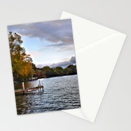 Lake George: Autumn Storm on the Horizon Stationery Cards