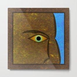 The Roman Eye. Metal Print