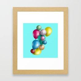 Balloons Framed Art Print