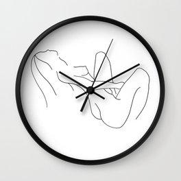 Femme 1: Self-Love Wall Clock
