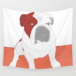 Bull dog Wall Tapestry