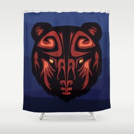 """""""Mathuin in Vector"""" by Paper Laine Shower Curtain"""