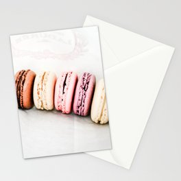 Macarons in Paris Stationery Cards