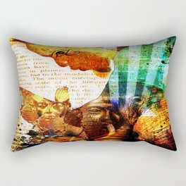 Creating Change Rectangular Pillow