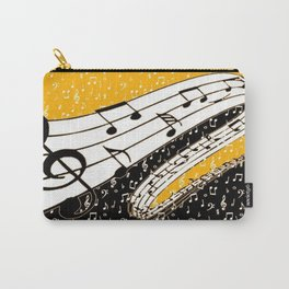 Gold music theme Carry-All Pouch