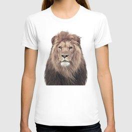 Lion Print, Safari Animal, Nursery Decor T-shirt