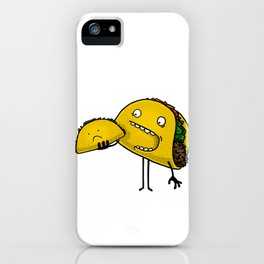 Taco Eater iPhone Case