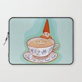 fairytale dwarf during teatime Laptop Sleeve