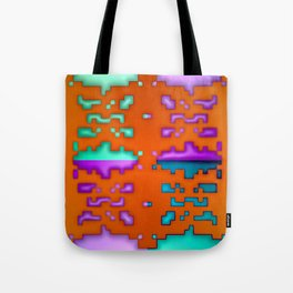 Pattern by paper cut ... Tote Bag
