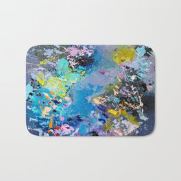 Strangers in space Bath Mat
