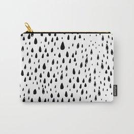 Polka rain drops Carry-All Pouch