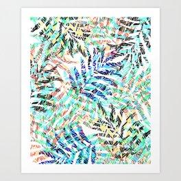 Island Palms Art Print
