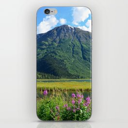 July at Tern Lake iPhone Skin