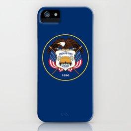 Utah State Flag - Authentic Version iPhone Case