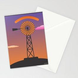 windmill glance Stationery Cards