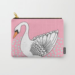 Stop Looking At Me Swan! Carry-All Pouch