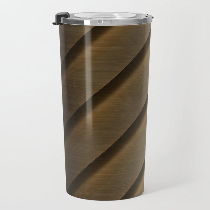 Copper Brass Metal Pipe Travel Mug