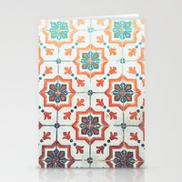 orange pattern Stationery Cards featuring Orange pattern by Travel Cards