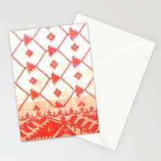My mother's sari Stationery Cards