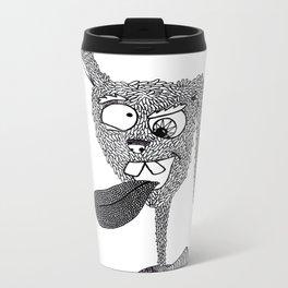 Silly Rabbit Metal Travel Mug