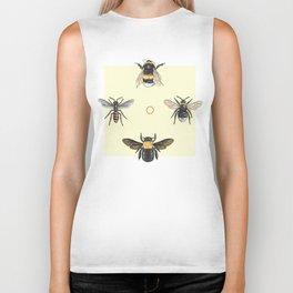Bees on bees Biker Tank