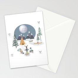 Camp Sleepy Moon (Large Print) Stationery Cards