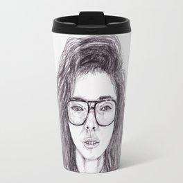 Random Girl Travel Mug
