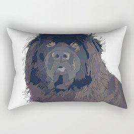 Bitch Please.  I'm Fabulous.  Newfoundland Dog. Rectangular Pillow