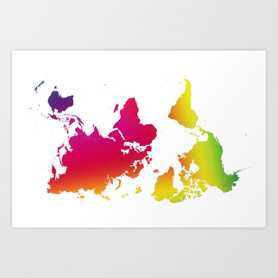 point of view - rainbow 2 Art Print