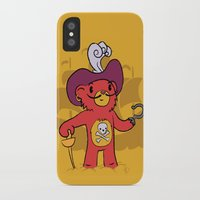 captain hook iPhone & iPod Cases featuring Captain Bear Hook by pepemaracas
