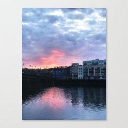 Pastel Irish Sky Canvas Print