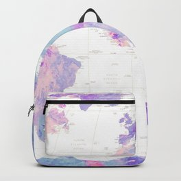 Unicorn Earth Map Backpack