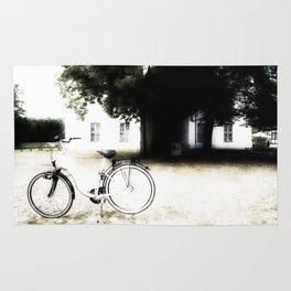 biking & relaxing Rug