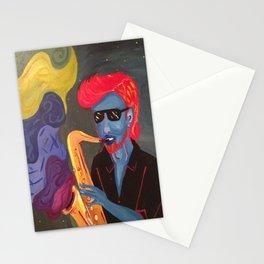 JazzMan Stationery Cards