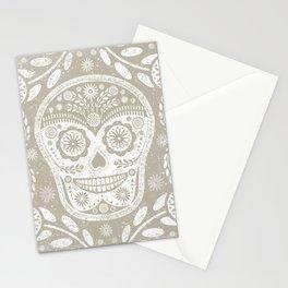 Day of The Dead   Día de los Muertos   Sand Stationery Cards