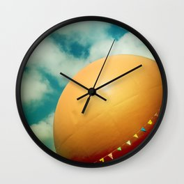 Orange Julep Wall Clock