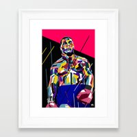 mike tyson Framed Art Prints featuring Mike Tyson by Kool C